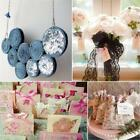 Organza Sheer Roll Sash Chair Bowknot Party Reception Table Runner Decoration Cf