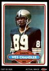 1980 Topps #275 Wes Chandler Saints NM/MT $0.99 USD on eBay