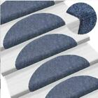 15PCS Stair Tread Carpet Mats Step Staircase Non Slip Mat Protection Cover Pads