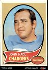 1970 Topps #73 John Hadl Chargers EX $0.99 USD on eBay