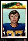 1977 Topps #475 Gary Garrison Chargers EX $0.99 USD on eBay