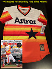 NEW George Springer Houston Astros Mens 1975-1981 Style Cooperstown Retro Jersey on Ebay