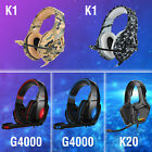 EACH 3.5mm Gaming Headset Headphone 7.1 Stereo Bass Surround for PS4 Xbox One PC