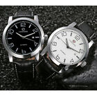 FORSINING Men's Luxury Wrist Watch Automatic Mechanical Analog Leather Skeleton