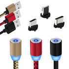 Magnetic 3 in 1 Braided Data Cable Charger For Sony Ericsson Mix...