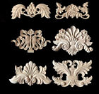 1PC Classic Solid Wood Carved Applique Cupboard Cabinet Door Furniture Decor