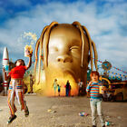 Travis Scott Astroworld Poster Wall Art Fabric Home Deco HD Print 24x24 inch
