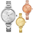 Fashion Womens Ladies Small Steel Band Analog Quartz Wrist Watch Watches CA image