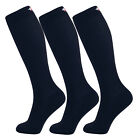 MD 3 Pack Bamboo Compression Socks (8-15mmHg) Moisture Wicking Support Stockings