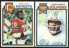 BUY 1, GET 1 FREE - 1979 TOPPS FOOTBALL - YOU PICK NUMBERS - #201 - #400 - NMMT $1.0 USD on eBay