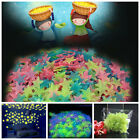 Home Decor Projects 100x 3D Stars Glow In The Dark Luminous Fluorescent Wall Stickers Room Decor New Home Decor Planters