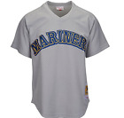 Mitchell & Ness Seattle Mariners #24 Baseball Jersey New Mens Sizes MSRP $80