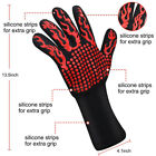 New Heat-Resistant Gloves Oven Hot Grilling BBQ Mitts 500℃ Cooking Kitchen Tools