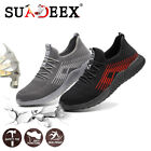 Womens Safety Work Shoes Breathable Lightweight Steel Toe Construction Sneakers