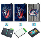 Columbus Blue Jackets Leather Credit ID Card Case Holder RFID Protector Wallet $11.99 USD on eBay
