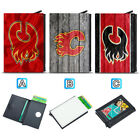 Calgary Flames Leather Credit ID Card Case Holder RFID Protector Wallet $11.99 USD on eBay