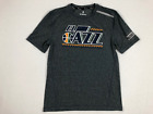 NEW Fanatics Utah Jazz - Gray Short Sleeve Shirt (Multiple Sizes)
