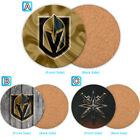 Vegas Golden Knights Wood Coffee Coaster Cup Mug Mat Pad Table Decor $3.49 USD on eBay