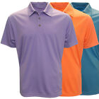Forrester Men's Solid Textured Polo Golf Shirt,  Brand New