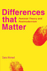 Ahmed Sara-Differences That Matter BOOK NEW