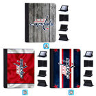 Washington Capitals Flip Case For iPad Mini 1 2 3 4 Air 5 6 Pro 9.7 10.5 12.9 $18.99 USD on eBay