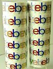 "Multi-Pack Rolls Official eBay Branded Logo BOPP Shipping Tape 75 yards x 2"" NEW"