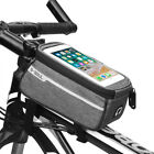 Cycling Bike Bicycle Front Frame Pannier Tube Bag For Mobile Phone Accessories M