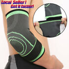 Elbow Compression Sleeves Support for Tendonitis Recovery Tennis Golf Adjustable