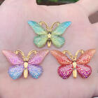 Kyпить DIY 10pcs 23*38mm Colorful Butterfly Flat back Rhinestone and Appliques DIY -B27 на еВаy.соm