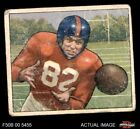 1950 Bowman #32 Ray Poole Giants-FB Mississippi / North Carolina 1.5 - FAIR $8.0 USD on eBay