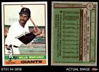 1976 Topps #181 Willie Montanez Giants 6 - EX/MTBaseball Cards - 213