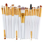 20pcs Makeup Brushes Kit Set Foundation Eyeshadow Eyeliner Lip Nylon Brush Tool