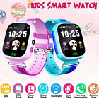Waterproof Kids Smart Phone Watch SOS Sim Card Anti-lost GPS Tracker-Android IOS