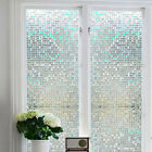 New Waterproof Glass Frosted Window Self Adhesive Sticker Bathroom Opaque Decal