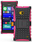 NEW GRENADE GRIP RUGGED TPU SKIN HARD CASE COVER STAND FOR NOKIA LUMIA 730 735