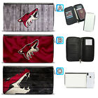 Arizona Coyotes Leather Travel Passport Holder Organizer Wallet $15.99 USD on eBay