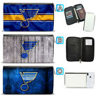 St. Louis Blues Leather Travel Passport Holder Organizer Wallet $15.99 USD on eBay