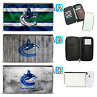 Vancouver Canucks Leather Travel Passport Holder Organizer Wallet $15.99 USD on eBay
