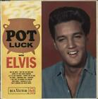 Elvis Presley Pot Luck - Small Silver Spot RCA Victor vinyl LP album record UK