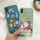 Toy Story Cartoon Pattern Soft Phone Case Cover For iPhone8Plus XR Xs Max 11 Pro