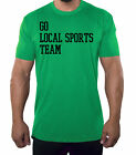 Go Local Sports Team, Funny Graphic Tees, Men's T-shirts