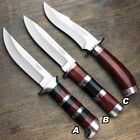 """10"""" Hunting Survival Camping Outdoor Fixed Blade Fishing Skinning Knife w Sheath"""