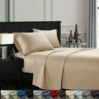 4 P Deep Pocket Queen Bed Sheets Set Fitted Flat 1800 Count Egyptian Comfort G image