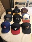 Assorted Snapback Hats The HUNDREDS STUSSY VANS BRIXTON NEW ERA AND MORE