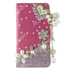 Glitter Leather Bling Stand Wallet Card Holder Cover Handmade Case For Doogee
