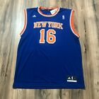 Adidas NBA Replica Jersey New York Knicks Steve Novak Blue Sz L NWT on eBay