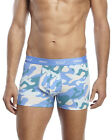 WARHOL X WESC Men's classic camouflage cotton boxer briefs Size L XL BLU ORG RED