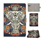 For Amazon Kindle Fire 7 HD8 HD10 8 10 in PU Leather Tablet Universal Cover Case