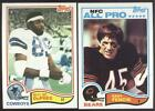 BUY 1, GET 1 FREE - 1982 TOPPS FOOTBALL - YOU PICK NUMBERS #201 - #400 - NMMT $1.0 USD on eBay
