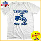 Triumph Motorcycles T Shirt Bob Dylan Highway 61 Revisited T-Shirt White Cotton $13.99 USD on eBay